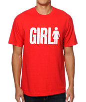 Girl Big Girl Red T-Shirt