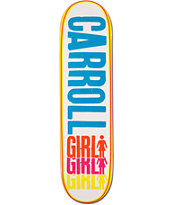 Girl Carroll Triple 8.12 Skateboard Deck