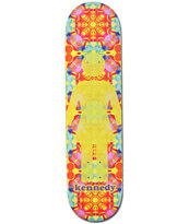 Girl Kennedy Kaleidoscope 7.75 Skateboard Deck