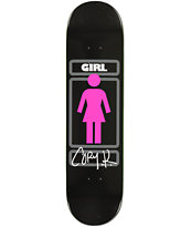 Girl Kennedy Sign Here 8.0 Skateboard Deck