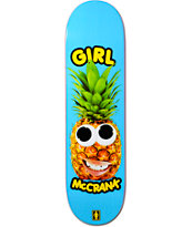 "Girl McCrank One Offs 8.37"" Skateboard Deck"