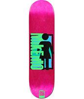 "Girl Mikemo Spike It 8.0"" Skateboard Deck"