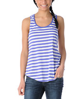 Glamour Kills Ahoy Blue Stripe Tank Top
