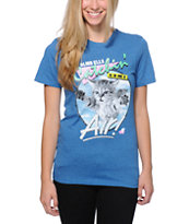 Glamour Kills Air Buddy Blue Tee Shirt