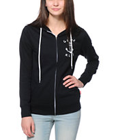 Glamour Kills Anchor Black Zip Up Hoodie