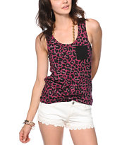 Glamour Kills Feel Good Lost Leopard Print Tank Top