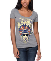 Glamour Kills Free Spirit Grey T-Shirt