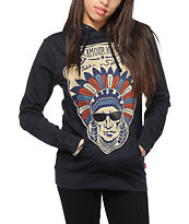 Glamour Kills Free Spirit Navy Pullover Hoodie