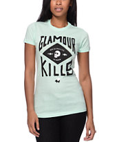 Glamour Kills GK Crest Mint Tee Shirt