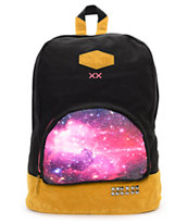 Glamour Kills Galaxy Black Backpack