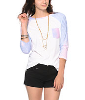 Glamour Kills Galaxy Sleeve & Pocket Baseball Tee
