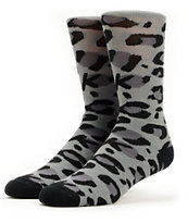 Glamour Kills Girls Cheetah Crew Socks