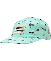 Glamour Kills Girls Everyday Mint 5 Panel Hat