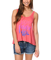 Glamour Kills Heavy Freaking Metal Coral Tank Top