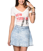 Glamour Kills In My Dreams NYC V-Neck T-Shirt