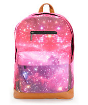 Glamour Kills Infinite Voyage Galaxy Print Laptop Backpack