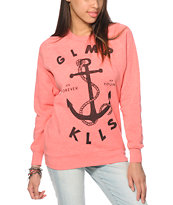 Glamour Kills Land Locked Crew Neck Sweatshirt