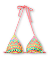 Glamour Kills Native Vibes Triangle Bikini Top