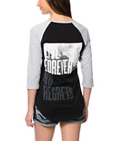Glamour Kills No Surrender Baseball Tee
