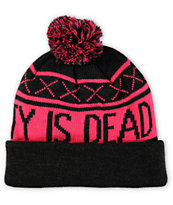 Glamour Kills Originality Is Dead Pom Beanie