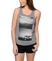 Glamour Kills Road Warriors Grey Tank Top