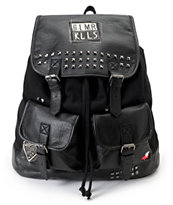 Glamour Kills Rucker Black Rucksack Backpack