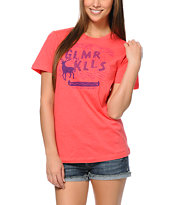Glamour Kills Salute Your Shorts Pink Tee Shirt