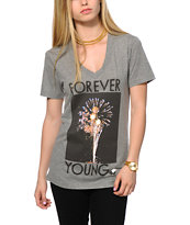 Glamour Kills Skylights V-Neck Tee Shirt