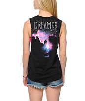 Glamour Kills Skyline Dreamers Muscle Tee