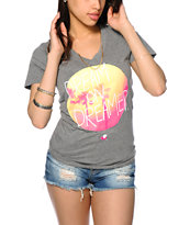 Glamour Kills Summer Daze V-Neck Tee