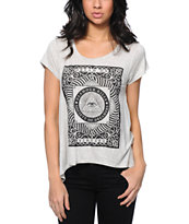 Glamour Kills The All Seeing Heather White Tee Shirt