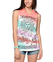 Glamour Kills Unicorns Are Forever Muscle Tee
