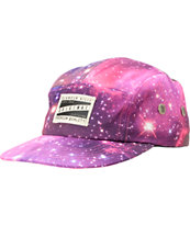 Glamour Kills Women's Infinite Voyage Galaxy 5 Panel Camper Hat