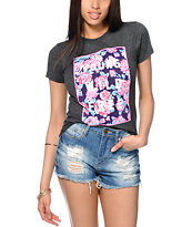 Glamour Kills Young Wild Floral Box Tee Shirt