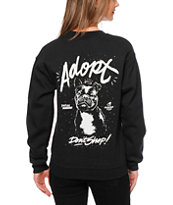 Glamour Kills x Peta2 Adopt Don't Shop Crew Neck Sweatshirt