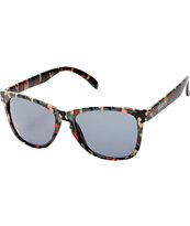 Glassy Deric Green Camo Sunglasses