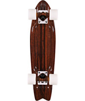 "Globe Bantam ST Walnut Brown 24"" Complete Cruiser Skateboard"