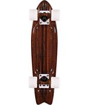 "Globe Bantam ST Walnut Brown 24"" Complete Cruiser Skateboard"
