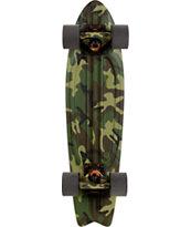 Globe Camo Bantam 7 x 24 Complete Cruiser Skateboard