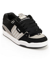 Globe Fusion Black & Grey Skate Shoe