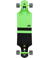 "Globe Geminon Neon Green 38.5"" Drop Through Longboard Complete"
