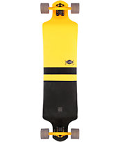 "Globe Geminon Yellow 41"" Drop Through Longboard Complete"