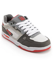 Globe Lock White, Grey & Red Skate Shoe