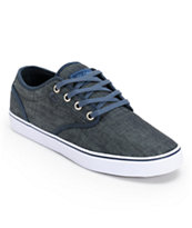 Globe Motley Blue Denim Skate Shoe