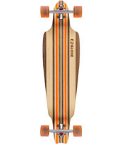 Globe Prowler Orange 38.0 Drop Through Longboard Complete