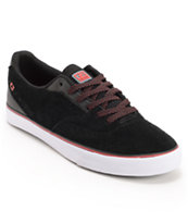 Globe Shoes Sabbath David Gonzalez Black & Red Skate Shoe