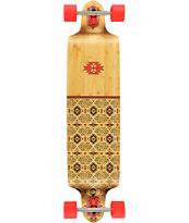 Globe Spearpoinnt Bamboo 41 Drop Through Longboard Complete