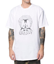 Gnarly Teepee Tree White Tee Shirt