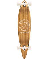 Gold Coast Classic Zebra Pintail 44 Longboard Complete