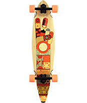 "Gold Coast Origin 40"" Pintail Longboard Complete"